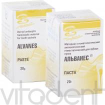 """Альванес (Alvanes, """"ВладМиВа"""") гемостатик, паста 20г."""