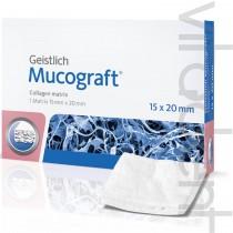 """Мукографт (Mucograft®, """"Geistlich"""") коллагеновая 3D матрица, для регенерации мягких тканей, 15х20мм."""