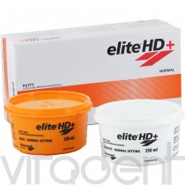 "Элит АшДи+ Путти (Elite HD+ Putty normal, "" Zhermack"") базисная масса, А-силикон, 2х250мл."