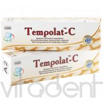 """Темполат-Ц А2 (Tempolat-С, """"Латус"""") для изготовления временных коронок; 3,5г+3,5г."""