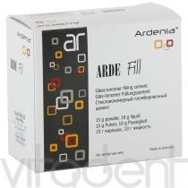 """Арде Фил (Arde Fill, """"Ardenia"""") цемент стеклоиономерный двухкомпонентный, 15г+10г."""