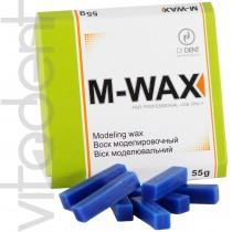 """М-Вакс (M-Wax, """"Di Dent"""") воск моделировочный, синий, 55г."""