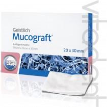 """Мукографт (Mucograft®, """"Geistlich"""") коллагеновая 3D матрица, для регенерации мягких тканей, 20х30мм."""