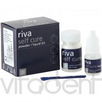 """Рива Сэлф Кюре (Riva Self Cure, """"SDI"""") цемент стеклоиономерный, химического отверждения, 15г+6,9мл."""