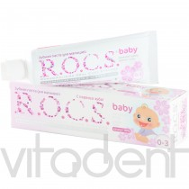 "Зубная паста (baby, ""R.O.C.S."") Аромат липы, 0-3лет, 45г."