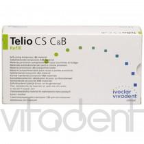 """Телио ЦС С&Б (Telio CS C&B, """"Ivoclar Vivadent"""") самоотвердеющий пастообразный композитный материал, 80г."""