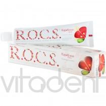 """Зубная паста (""""R.O.C.S."""") Карибское лето, со вкусом грейпфрута и мяты, 74г."""