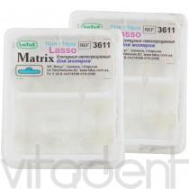 """Матрицы (""""Латус"""") 3611 светопрозрачные контурные «Лассо» для моляров, 10шт."""