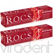"""Зубная паста (""""R.O.C.S."""") Волшебное отбеливание, 74г."""