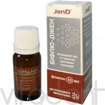 """Бифлюджен (Biflujen, """"JenDental"""" ) лак для фторирования зубов, 10мл."""