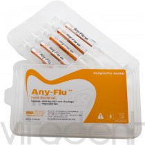 """Эни-Флю Гель (Any-Flu Gel, """"Mediclus"""") фторидный гель с нитратом калия, шприц 1,2мл."""