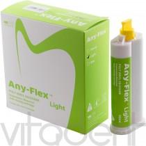 """Эни-Флекс Лайт (Any-Flex Light, """"Mediclus"""") корегирующая масса для А-силикона, картридж 2х50мл."""