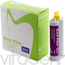 "Эни-Флекс Байт (Any-Flex Bite, ""Mediclus"") А-силикон для регистрации прикуса, картридж 2х50мл."