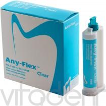 "Эни-Флекс Клеар (Any-Flex Clear, ""Mediclus"") А-силикон для создания прозрачных ключей, 2х50мл."