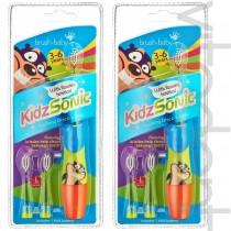 """Электрическая зубная щетка (KidsSonic, """"Brush-Baby""""), 3-6 лет, 1шт."""