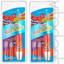 """Электрическая зубная щетка (KidsSonic, """"Brush-Baby""""), от 6 лет, 1шт."""