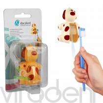 """Гигиенический футляр Funny Animals (""""Miradent"""") держатель для зубной щетки, 1шт."""