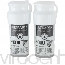 """Ультрапак (Ultrapak, """"Ultradent"""") нить ретракционная №000 без пропитки, 244см."""