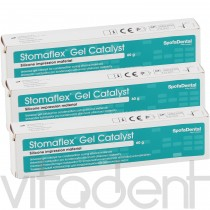 """Стомафлекс Гель Катализатор (Stomaflex Gel Catalyst, """"SpofaDental"""") для С-силикона, 60г."""