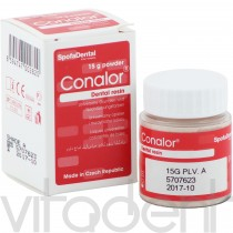 """Коналор (Conalor, """"SpofaDental"""") порошок, универсальная опаковая и подкрашивающая система, 15г."""
