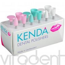 """Кенда (""""KENDA"""") головка полировочная резиновая с абразивом, 1шт."""