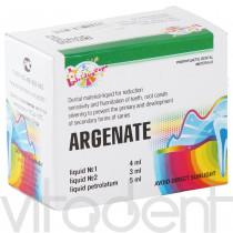 """Аргенат (Argenate """"ВладМиВа"""") двухкомпонентный, серебрение твердых тканей зуба, 4+3+5мл."""