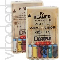 "К-Ример (K-Reamer, ""Dentsply"") 25/31мм, 6шт."