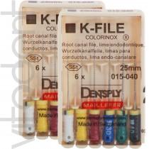 """К-файл (K-files, """"Dentsply"""") 25/31мм, 6шт."""