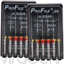 "Профайл (ProFile®, ""Dentsply"") 0.4/0.6, 25/31мм, 6шт."